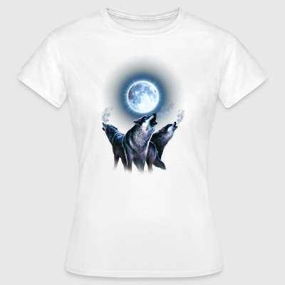 Wolf, Leader of the Pack - RAHMENLOS® T-Shirts - Frauen T-Shirt