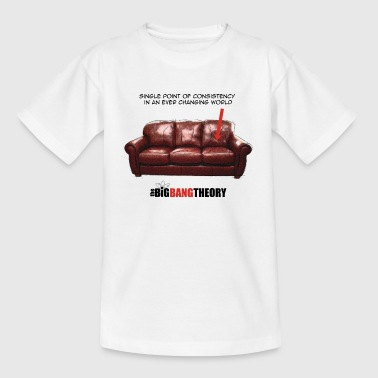 The Big Bang Theory Sheldon's Couch Teenager T-Shi - Teenager T-Shirt