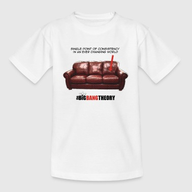 The Big Bang Theory Sheldon´s Couch teenager T- s - Teenager-T-shirt