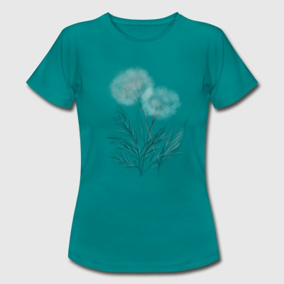 Damen Shirt Pusteblume - Frauen T-Shirt