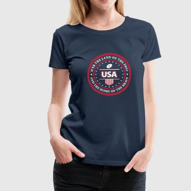 USA Anthem - Women's t-shirt - Women's Premium T-Shirt