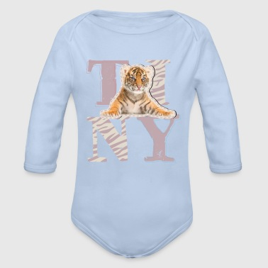 Animal Planet Tiny Tiger Baby One-Piece - Organic Longsleeve Baby Bodysuit