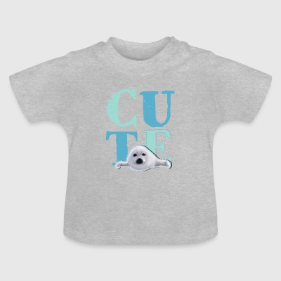 Animal Planet Cute Robbe Baby T-Shirt - Baby T-Shirt