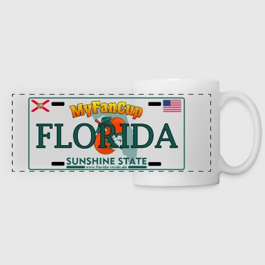 Florida Fan Cup - Licence Plate Edition - Panoramatasse