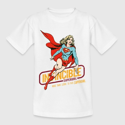 Supergirl Teenager T-Shirt Invincible - Teenager-T-shirt