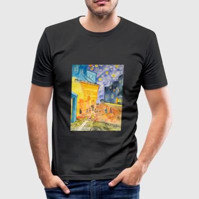 Männer Slim Fit T-Shirt Stedmann - Männer Slim Fit T-Shirt