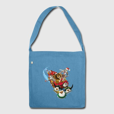 Madagascar Christmas Tote Bag - Shoulder Bag made from recycled material