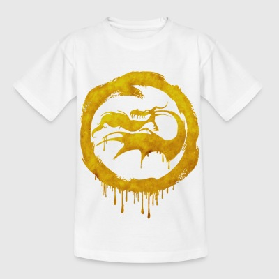 Dragons Icon Stoker Watercolor t-shirt - Kids' T-Shirt