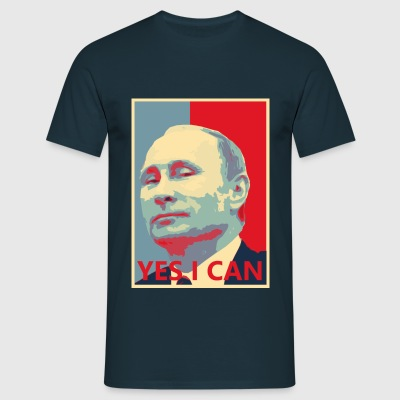 Putin YES I CAN - Männer T-Shirt