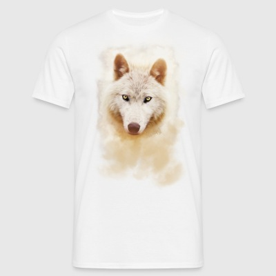 .: White Wolf - Intense :. - Männer T-Shirt