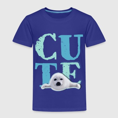 Animal Planet Pup sel barn-T-skjorte - Premium T-skjorte for barn