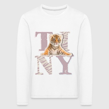 Animal Planet Tiger Kinder Langarmshirt - Kinder Premium Langarmshirt