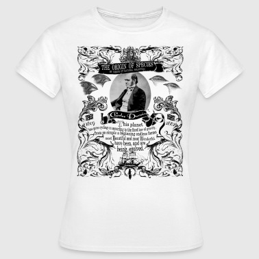 Charles Darwin Origin of Species - Women's T-Shirt