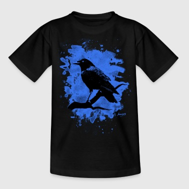 Crow bleached blue - Kinder T-Shirt