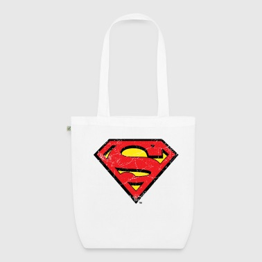 Superman Logo used look Stoffbeutel - Bio-Stoffbeutel
