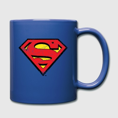 Superman Logo Tasse - Tasse en couleur