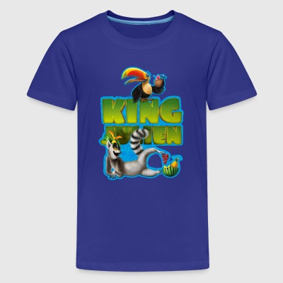 King Julien Teenagers' T-Shirt - Teenage Premium T-Shirt