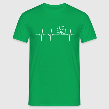 Irish Heartbeat - Men's T-Shirt