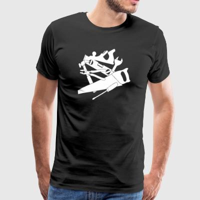 Woodworking carpentry T-Shirts - Men's Premium T-Shirt