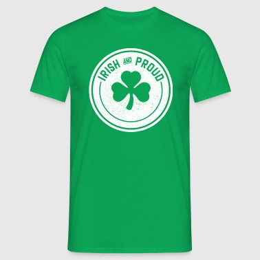 Irish & Proud - Men's T-Shirt