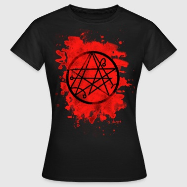 Necronomicon bleached - red - Frauen T-Shirt