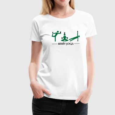 Irish Yoga - Women's Premium T-Shirt