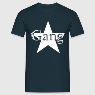 Gang Bang - Herre-T-shirt