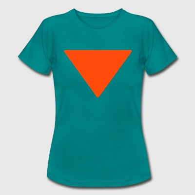 Less is more triangle T-shirts - Vrouwen T-shirt