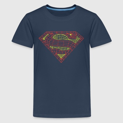 Superman Logo Teenager T-Shirt - Premium-T-shirt tonåring