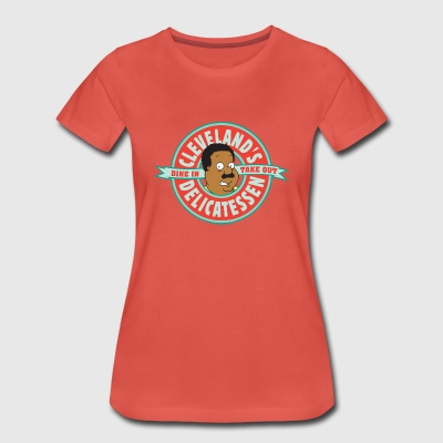 Family Guy Cleveland's Delicatessen Women T-Shirt - Maglietta Premium da donna