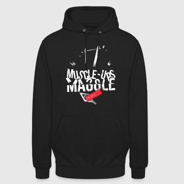 MUSCLE-UP MAGGLE !  - Sweat-shirt à capuche unisexe