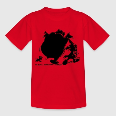 Asterix & Obelix with Idefix shadow Kid's T-Shirt - Kids' T-Shirt