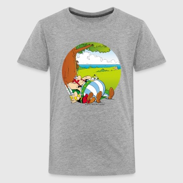 Asterix & Obelix are sleeping Teenager T-Shirt - Teenage Premium T-Shirt