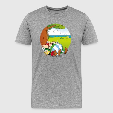 Asterix & Obelix are sleeping Men's T-Shirt - Men's Premium T-Shirt