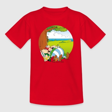 Asterix & Obelix schlafen Teenager T-Shirt - Teenager T-Shirt