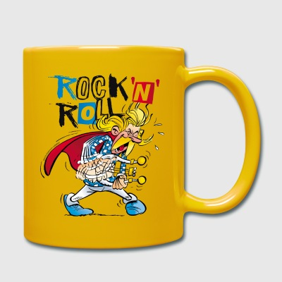Asterix & Obelix Troubadix Rock'n' Roll Mug - Full Colour Mug