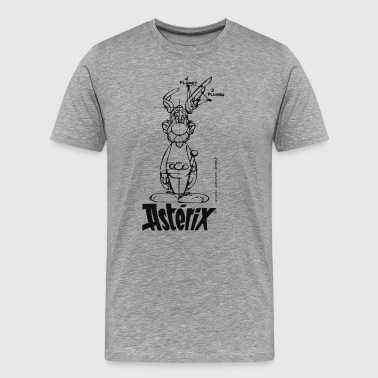 Asterix & Obelix - Asterix model Mänenr T-Shirt - Men's Premium T-Shirt
