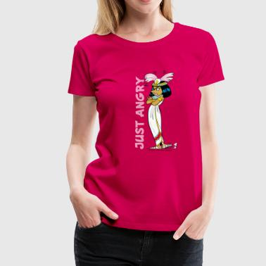 Asterix & Obelix - Kleopatra Just Angry Women's T- - Vrouwen Premium T-shirt