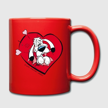 Asterix & Obelix Idefix with heart Mug - Full Colour Mug