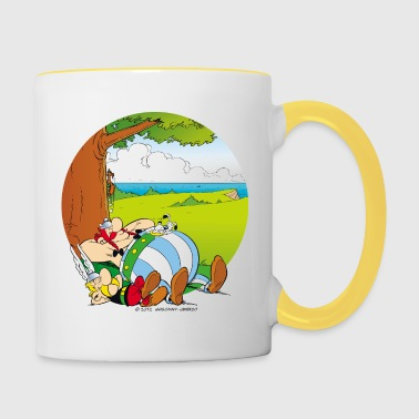Asterix & Obelix are sleeping Mug - Contrasting Mug