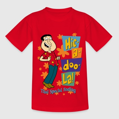 Family Guy Glenn Quagmire Hic-a-doo-La! Teenager T - T-skjorte for tenåringer