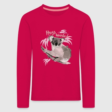 Animal Planet hugs wanted Kid's Longsleeveshirt - Kids' Premium Longsleeve Shirt