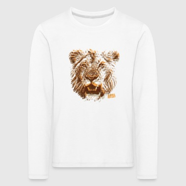 Animal Planet Lion Head Kid's Longsleeveshirt - Kids' Premium Longsleeve Shirt