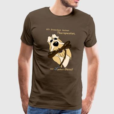 Spinone Therapeut - Männer Premium T-Shirt