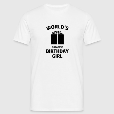 World's Greatest Birthday Girl Tee shirts - T-shirt Homme