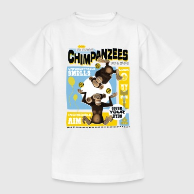Madagascar Chimpanzees Teenager T-Shirt - Teenage T-shirt