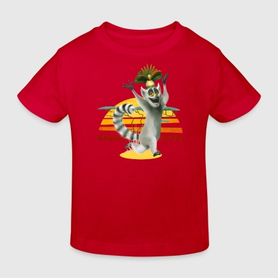 Madagascar King Julien Kinder T-Shirt - Kinder Bio-T-Shirt