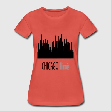 Chicago Illinois - Women's Premium T-Shirt