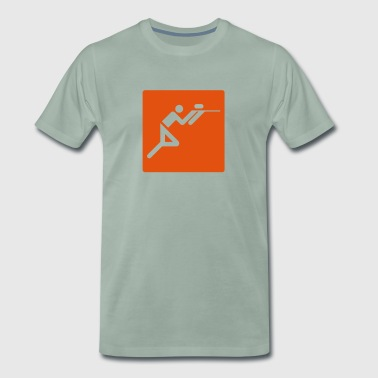Olympic Paintballer - Mannen Premium T-shirt