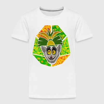 DreamWorks King Julien 'Kinf Julien head' Kid's T- - Kids' Premium T-Shirt